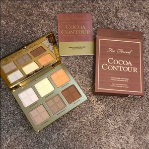 NWT Too Faced - Cocoa Contour Palette